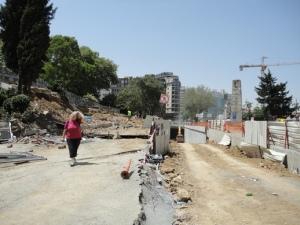 Northern end of Gezi Park