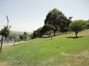 There is other open space near Taksim…