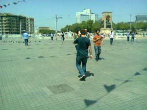 Gezi Park while the trees still stand