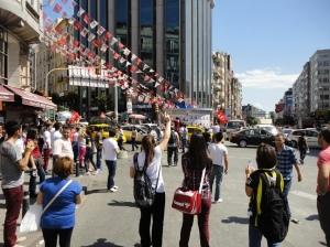 Intersection of Halaskar & Rumeli Caddeleri