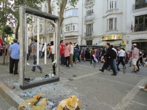 Nearing Taksim