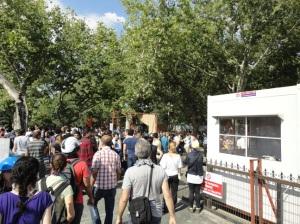 Entering Gezi Park