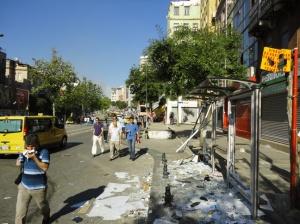 Tarlabaşı Sokağı, looking towards Taksim