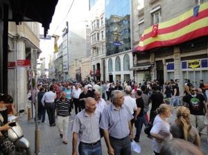 Back on İstiklal, at Asmalı Mescit