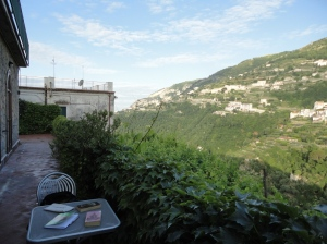 photo of terrace in Ravello