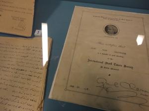 Sait Faik's membership in the International Mark Twain Society