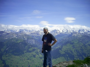 Niesen, Berne, Switzerland, July, 2008.  Photograph by Ayşe Berkman