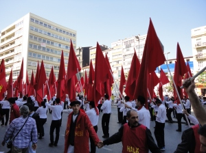 May Day 2012 Istanbul