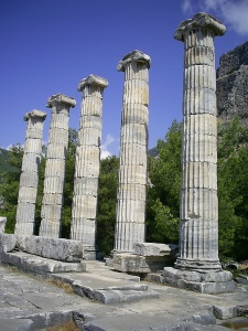 Priene,  Söke, Aydın, Turkey, July 24, 2008