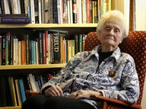 Mary Midgley, by Gary Calton for the Observer, Sunday 23 March 2014
