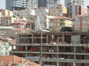 Unsafe construction work, September 6, 2015