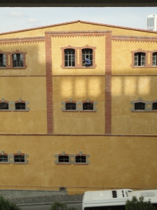 Unsafe window cleaning, Bomonti, September 22, 2015