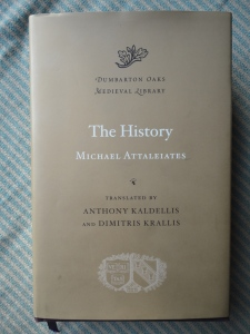 Michael Attaleiates, <EM>The Histories,</EM> translated by Anthony Kaldellis and Dimitris Krallis, volume 16 of the Dumbarton Oaks Medieval Library (Cambridge, Massachusetts, and London, England: Harvard University Press, 2012)