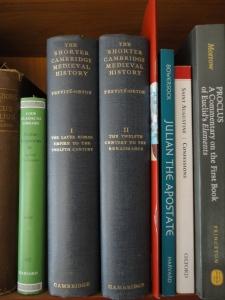 C. W. Previté-Orton, The Shorter Cambridge Medieval History, on my shelves