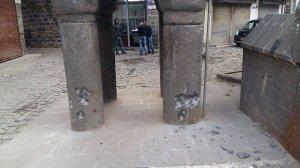 Four Footed Minaret, from a tweet of  Fırat Anlı, Co-Mayor of Diyarbakır