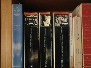 Gibbon's Decline and Fall on my shelves (which are arranged according to date of birth of author)