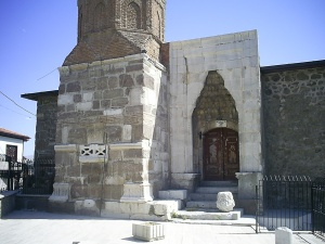 Arslanhane Mosque, dated 1290, Ankara, July 28, 2009