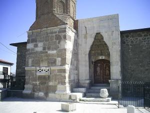 Arslanhane Mosque, dated 1290, Ankara, July 28, 2009