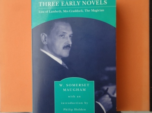 photo of Maugham's _Three Early Novels_