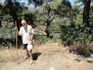 myself-sirince-hike
