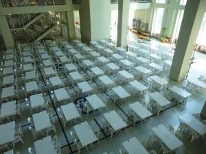 Tables for art entrance exam, MSGSÜ, 2016.08.02