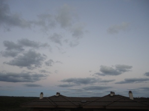 Dawn sky, Riva, Beykoz, 2016.08.15