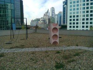 Elgiz Museum terrace, November 12, 2016