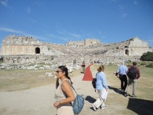 The theater of Miletus