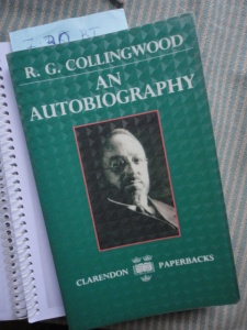 Collingwood, An Autobiography, green cover with author photo