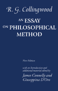 Collingwood, Essay on Philosophical Method, blue cover