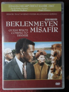 Guess Who's Coming to Dinner DVD cover, in Turkish