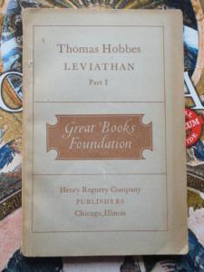 Thomas Hobbes, Leviathan, Part I (Chicago: Regnery)