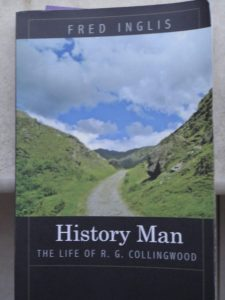 Inglis, History Man cover: dirt road through a mountain pass