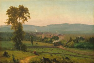 George Inness (American, 1825–1894), The Lackawanna Valley, c. 1856, oil on canvas (National Gallery of Art, Washington; gift of Mrs. Huttleston Rogers)