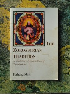 Farhang Mehr, The Zoroastrian Tradition, cover with image of Zarathustra