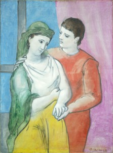 Pablo Picasso, The Lovers (1923; National Gallery of Art, Washington)