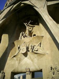 Sagrada Familia, west front, November, 2008