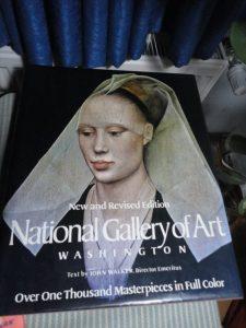John Walker, National Gallery of Art: cover with van der Weyden's Lady
