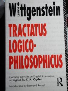 Wittgenstein, Tractatus cover