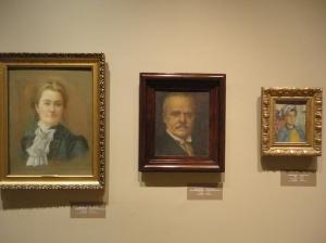 Three Feyhaman portraits