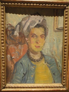 Feyhaman, portrait of a woman