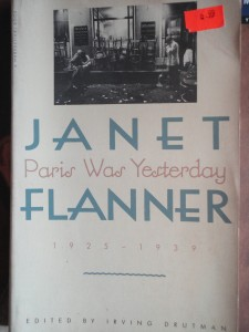 Janet Flanner book cover