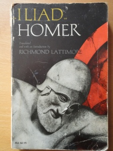 The Iliad of Homer, Lattimore translation
