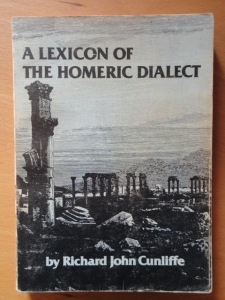 Cunliffe, Lexicon of the Homeric Dialect