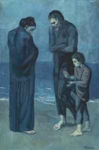 Picasso, The Tragedy (1903), National Gallery of Art, Washington