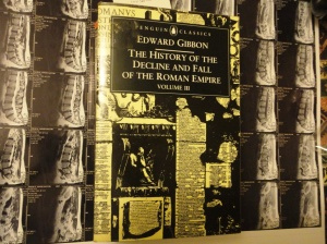 Cover of Gibbon's Decline and Fall, volume III in the Penguin edition