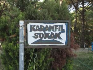 sign: Karanfil Sokak