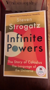 book cover: Steven Strogatz, Infinite Powers