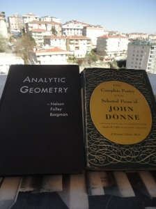 Analytic Geometry and Donne's complete poetry
