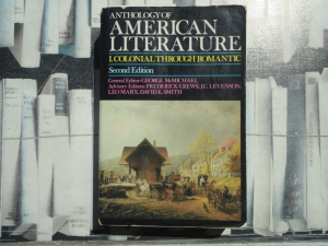 McMichael, ed., Anthology of American Literature I (2d ed., Macmillan, 1980)